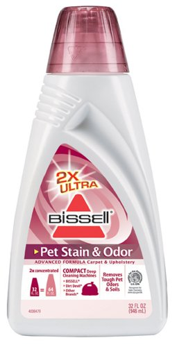 Bissell 2X Pet Stain and Odor Advanced Formula, 32 Ounces, 74R7