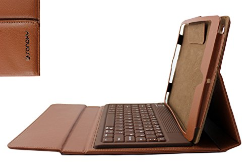 Sanoxy Bluetooth Keyboard Pu Leather Case Cover For Apple Ipad2 Ipad 2 2Nd/ Ipad 3/ 4 Brown, Pink (Sanoxy-Ipabtkybcs-Brn)