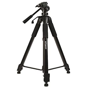 """Polaroid 72"""" Photo / Video ProPod Tripod Includes Deluxe Tripod Carrying Case + Additional Quick Release Plate For Digital Cameras & Camcorders"""