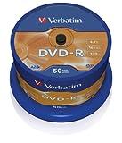 Verbatim-DVD-R-16x-Speed-47GB-50er-Spindel-DVD-Rohlinge
