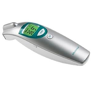 Medisana FTN - Termómetro multifunción por infrarrojos sin necesidad contacto