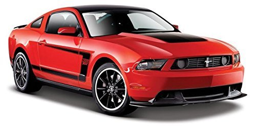 2011 Ford Mustang Boss 302 Red 1/24 by Maisto 31269 motormax модель автомобиля ford mustang boss 429 1970
