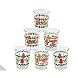 Ugly Sweater Party Shot Gasses - 24 drinking game shot glasses funny sayings