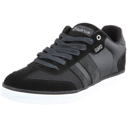 DVS Shoe Men's Milan Cadence Black Suede Trainer D/S/Milan Cadence_Bl-S 11 UK