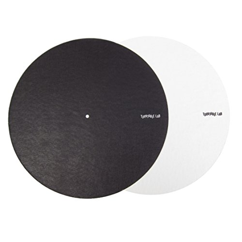 Turntable Lab: Switchmat Reversible Slipmat - Black / White (Pair) (Turntable Pair compare prices)