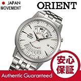 ORIENT (オリエント) SEU0A003WH 自動巻き パーペチュアルカレンダー ホワイトダイアル メタルベルト メンズウォッチ 腕時計 [並行輸入品]