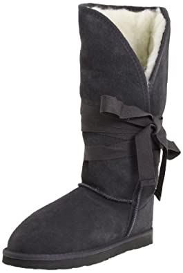 Ukala Women's Micah Knee-High Boot,Charcoal,9 M US