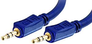 Cables To Go Velocity 0.5m 3.5mm Stereo Audio Cable M/M