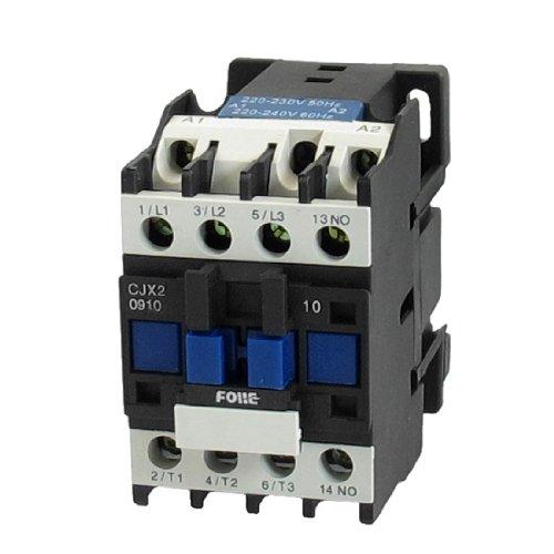 Amico 220-240V Coil Motor Controler Ac Contactor 3P 3 Pole No 660V 5.5Kw Cjx2-0910