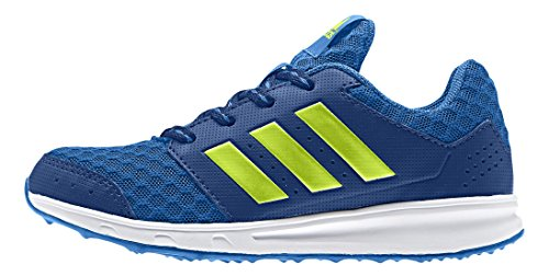 adidas PerformanceLK Sport 2 - Scarpe Running Unisex - Bambini, Blu (Blau (Eqt Blue S16/Semi Solar Slime/Shock Blue S16)), 37 1/3 EU