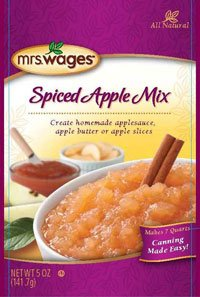 Mrs. Wages Spiced Apple Mix 5 Oz. Packets, for Making Apple Butter and Apple Sauce (Pack of 6)