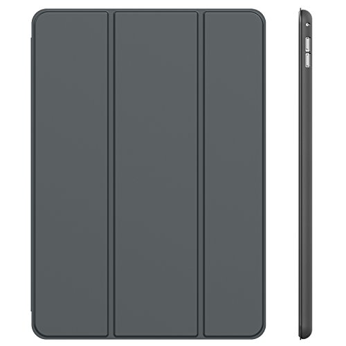 "iPad Pro Case, JETech® iPad Pro Slim-Fit Smart Case Cover for Apple iPad Pro 12.9"" 2015 with Auto Sleep/Wake Function (Dark Grey)"