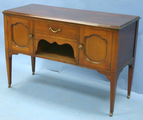 Cheap Antique Victorian Mahogany Sideboard (B00417XHVC)