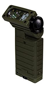 Streamlight 14003 Sidewinder Green LED Flashlight, Green