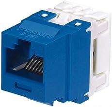 Panduit NK688MBU Category-6 8-Wire Jack Module Blue 4-Pair