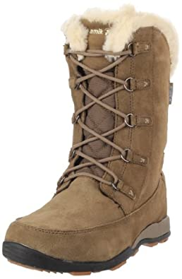 Kamik Women's Kiev Insulated Boot,Taupe,6 M US