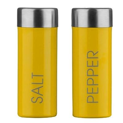 PremierHousewares Salt and Pepper Set - Yellow by Premier Housewares