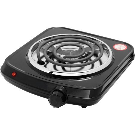 Mainstays Single Burner, Adjustable temperature control (Sunflower Gas Burner Covers compare prices)