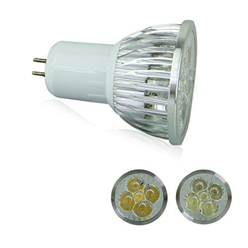 Voberry Ultra Bright Gu5.3 Led Spot Lights Lamp Bulb 15W 60 Degrees 85-265V Warm White (Warmwhite-60)