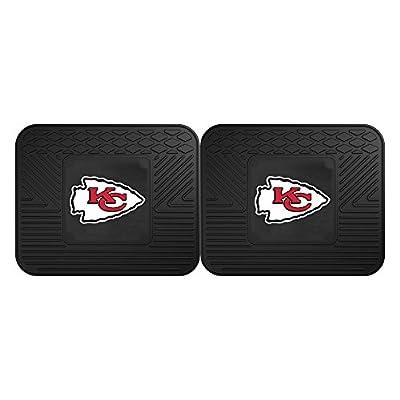 FANMATS 12357 NFL - Kansas City Chiefs Utility Mat - 2 Piece