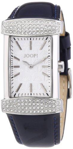 Joop JP100552F09 - Reloj analógico de cuarzo para mujer con correa de piel, color azul