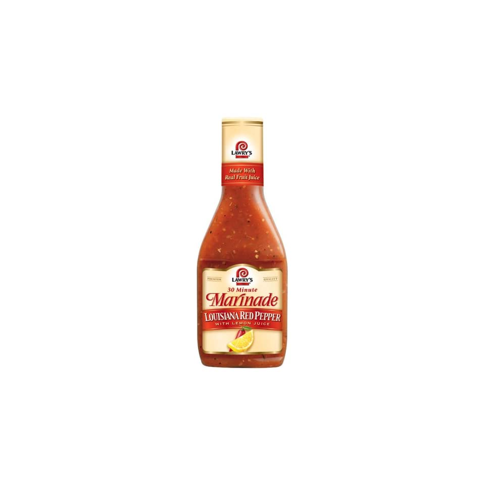 Lawrys Louisiana Red Pepper Marinade 12 Ounces Pack Of 6