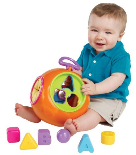 Earlyears ABC Shape Sorter (Discontinued by Manufacturer)
