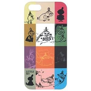 ムーミン iPhone5ケース カラーズ・ミイ柄8086【アイフォン5ケース iPhone5 ジャケット カバー かわいい キャラクター】
