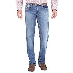 Trigger Men's Regular fit Blue JeansR44L-176S