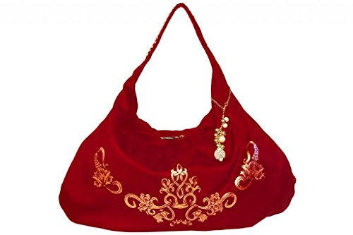 Red Fluke Design Company Slouchy Hobo (Red)