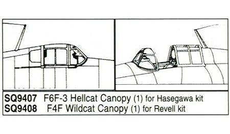 Grumman F6F-3 Hellcat (pour maquettes Hasegawa)