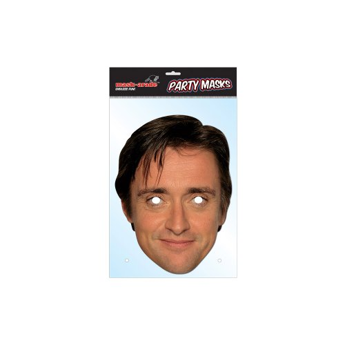 Partyrama Richard Hammond Celebrity Cardboard Mask - Single - 1