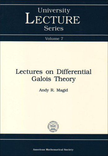 lectures-on-differential-galois-theory-university-lecture-series-vol7