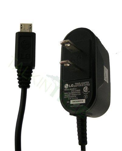 Lg VM-101 CM-101 LG102 Rumor Touch vm510 Banter AX265 UX265 CHOCOLATE 3 VX8560 Optimus 7 E900 OEM micro-USB Cell Phone Travel / Home Wall Charger STA-U34WRI STA-U32WRI STA-U32WS STA-U32WD SSAD0027601 (Lg Optimus E900 compare prices)