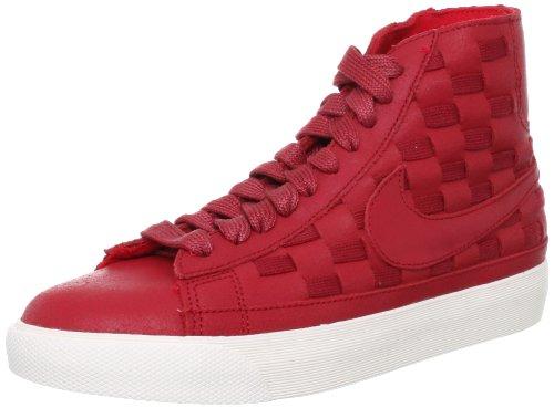 Nike Wmns Blazer Mid Woven Donna US 5 Rosso Scarpe ginnastica