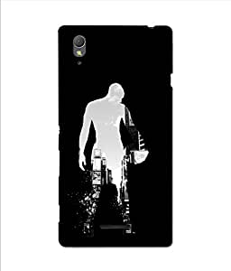 3D instyler DIGITAL PRINTED BACK COVER FOR SONY XPERIA T3