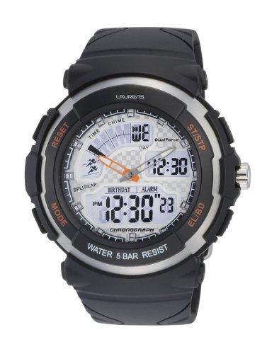 Laurens M012J900Y - Orologio cronografo analogico e digitale uomo