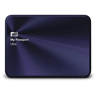 WD My Passport Ultra Metal Edition 1 TB Navy - premium storage with style