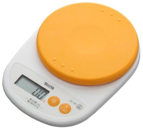 [Haute pr?cision de 0,5 g le plus proche] orange abricot KD-189-OR TANITA ?chelle de cuisson num?rique (japon importation)