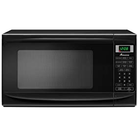 Amana 0.7 cu. ft. Countertop Microwave, AMC1070XB, Black