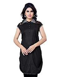 Miss & Mrs Casual Cap-sleeve Printed Cotton Women's Kurti