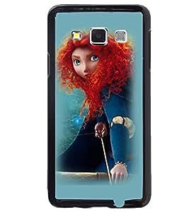 Printvisa Witchish Girl Pick Back Case Cover for Samsung Galaxy E7::Samsung Galaxy E7 E700F