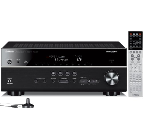Yamaha RX-V675 7.2 Channel Network 3D AV Receiver with Airplay (Black)