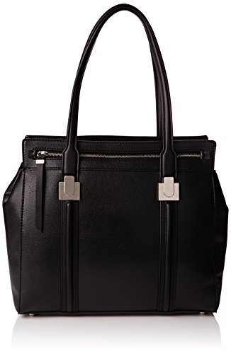 Nine West da donna spalla mancante Chic Str LG Tote, Cutaway Chic Str Lg, Nero