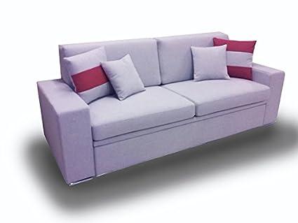 Ponti divani black divano letto singolo con letto estraibile ecopelle bianco sporco rete a - Divani con letto estraibile ...