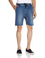 Quiksilver Mens Cotton Shorts (3613371344832_EQYDS03045-BNQW_L_Worn Wash)