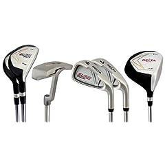 Buy Delta Golf Mens Left Hand 7 Piece Golf Club Set by DELTA GOLF