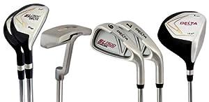 Buy Delta Golf Mens Right Hand 7 Piece Golf Club Set by DELTA GOLF