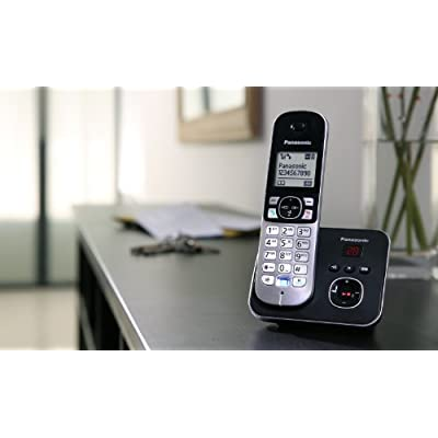 Panasonic KX-TG6823EB Trio DECT Cordless Telephone Set with Answer Machine