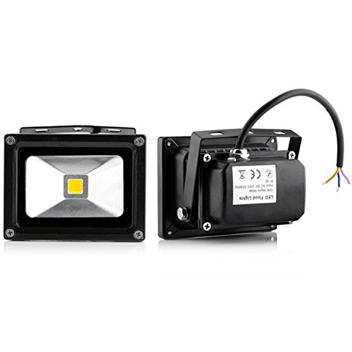 2 Pack 10W Ip65 Waterproof Outdoor Lamp Warm White High Power Led Security Spot Light Flood Light